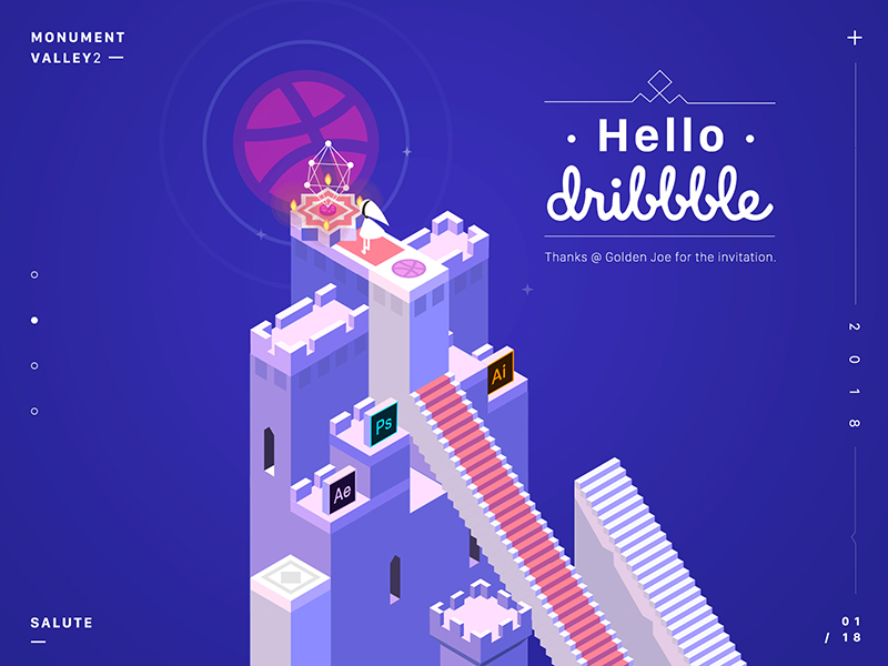 debut-dribbble-shot-by-muziying