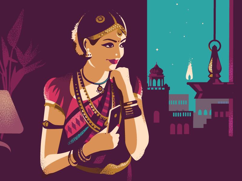 grace-and-style-illustration-by-ranganath-krishnamani