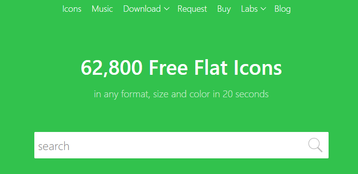 Icons8 Website
