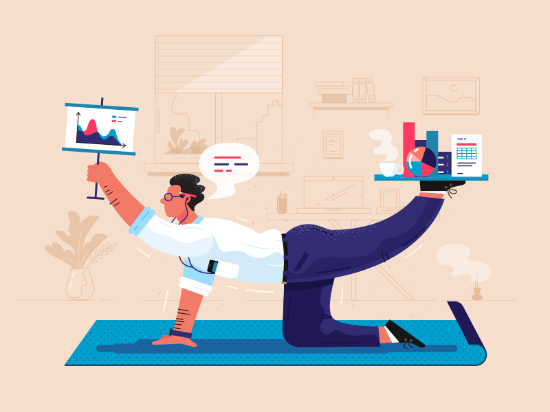 keep-the-balance-illustration-by-andy-selimov