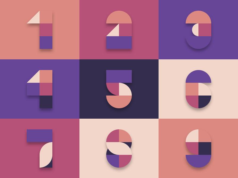 numerals-by-bulent-keles