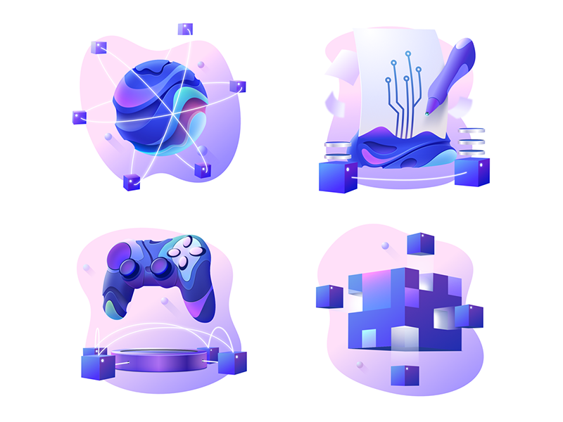 Gaming icons by Csaba Gyulai