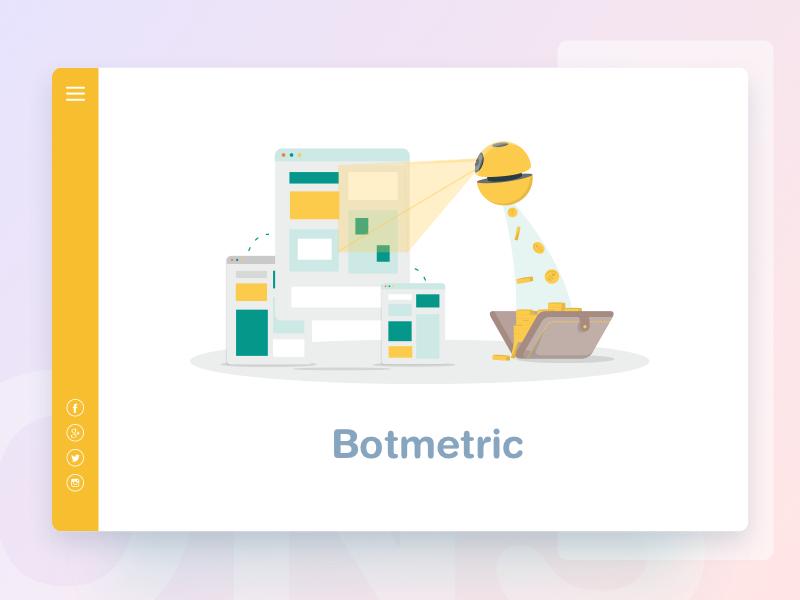 Botmetric illustration by Netbramha Studios