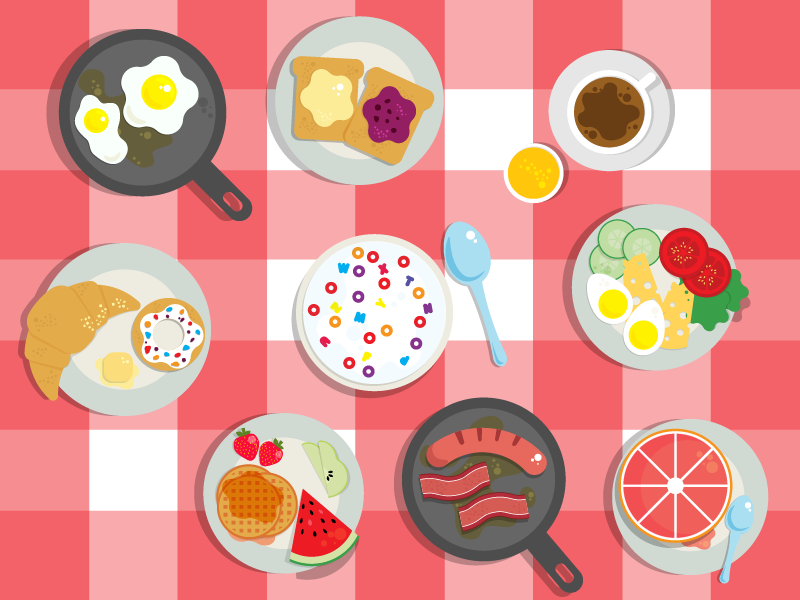 Breakfast Icons by Alin