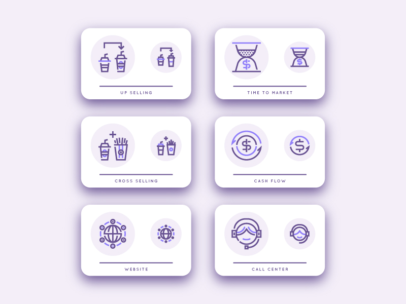 Customer Relationship Management Icon Pack by Anas Niam Zuhdy
