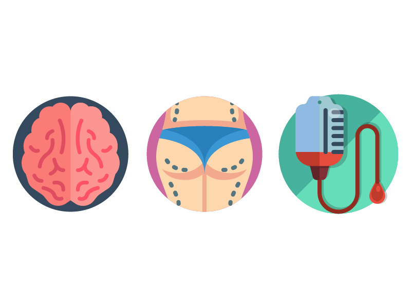 Medical Icons by Ben Davis