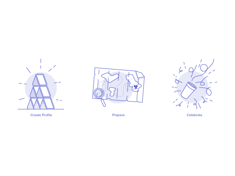 Get hired icons by Razvan Vezeteu
