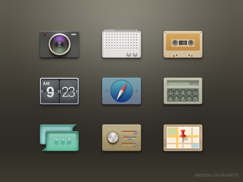 Icons by Liu He