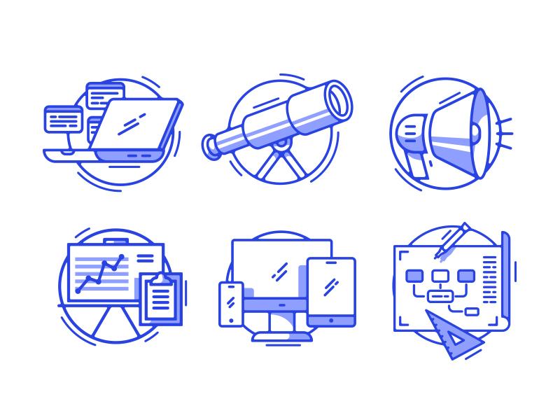 Presentation Icons by Drew Ellis