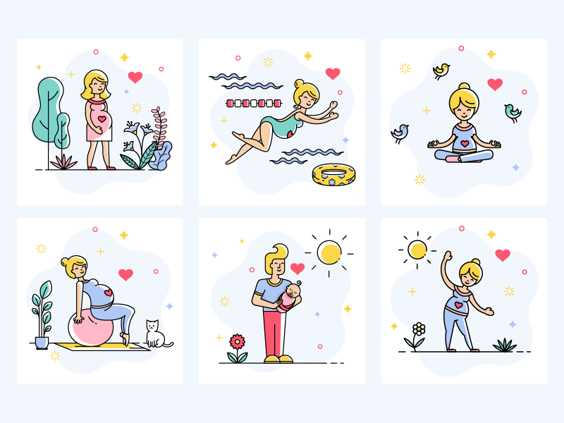 Icons Neomama by Kate Dihich