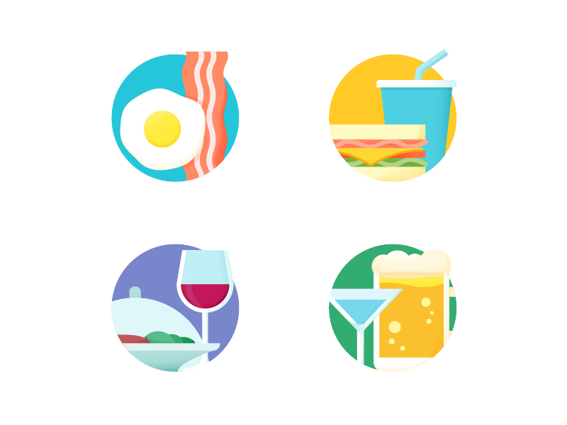 Food icons by Shiping Toohey