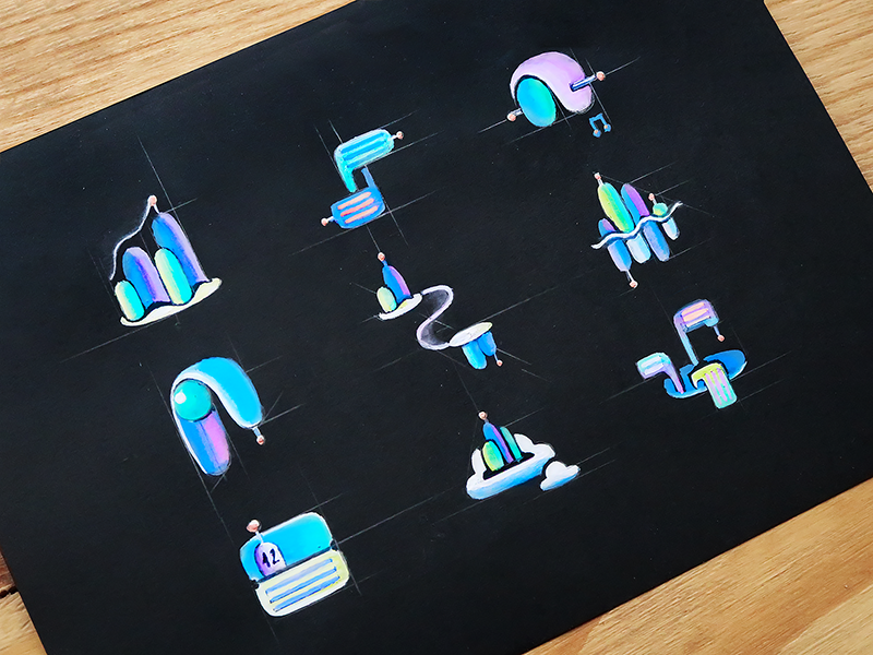 Social Icons by Outcrowd