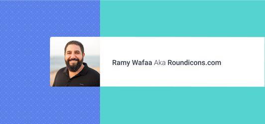Designer Spotlight: Ramy WafaaAKA Roundicons.com