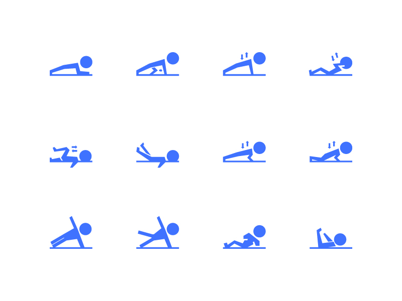 Home Workout Icons by Andi Nur Abdillah