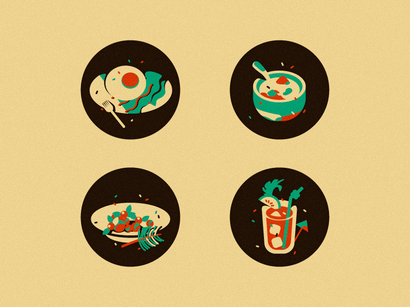 Food icons by Japhia