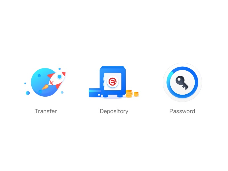 Depository Bank icons by Xooqin