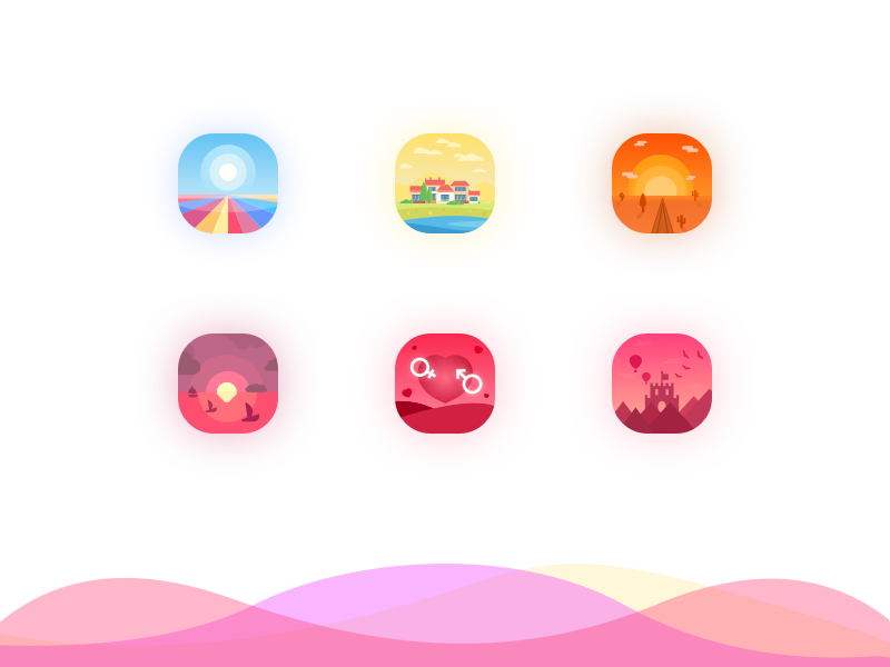 Nature icons by ANNA.H