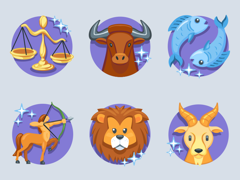 Astrology Emojis by Iconfactory