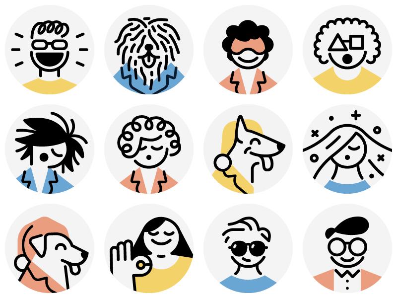 Casper / Avatars icons by Justin Tran