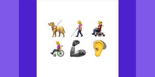 Apple Proposes new Emojis to represent Disabilities