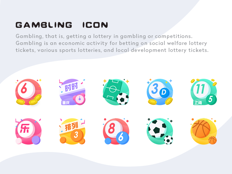 Gambling Icons by Muzi