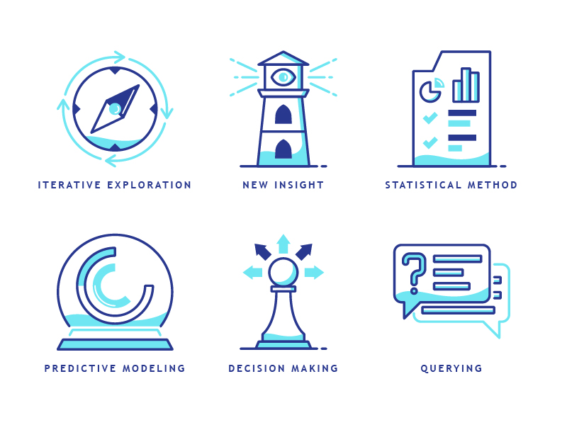Business Analytic Icons by Anas Niam Zuhdy