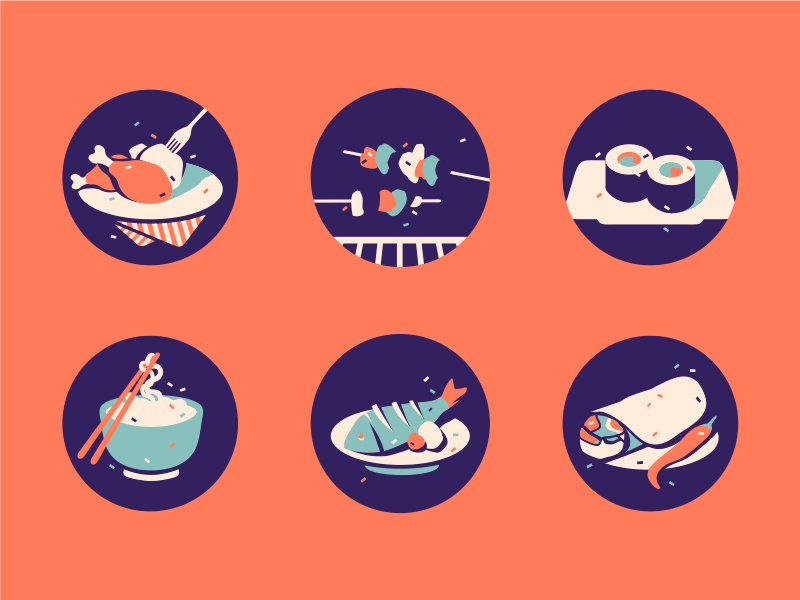 Food icons by Szende Brassai / Adline