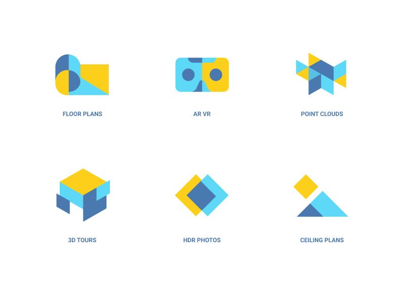 MatterPort Icons by Eddie Lobanovskiy