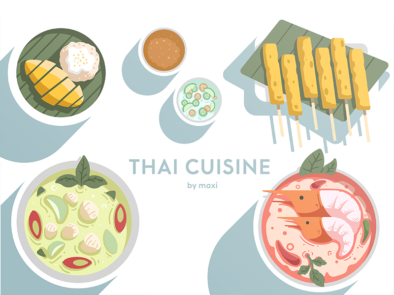 Thai Cusine by Chanut-is-Industries