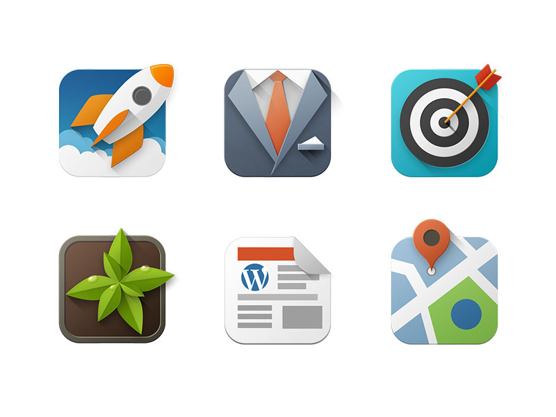 Web Icons by Dizzain