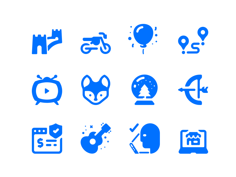 Solid Icons Pack by Ramy Wafaa