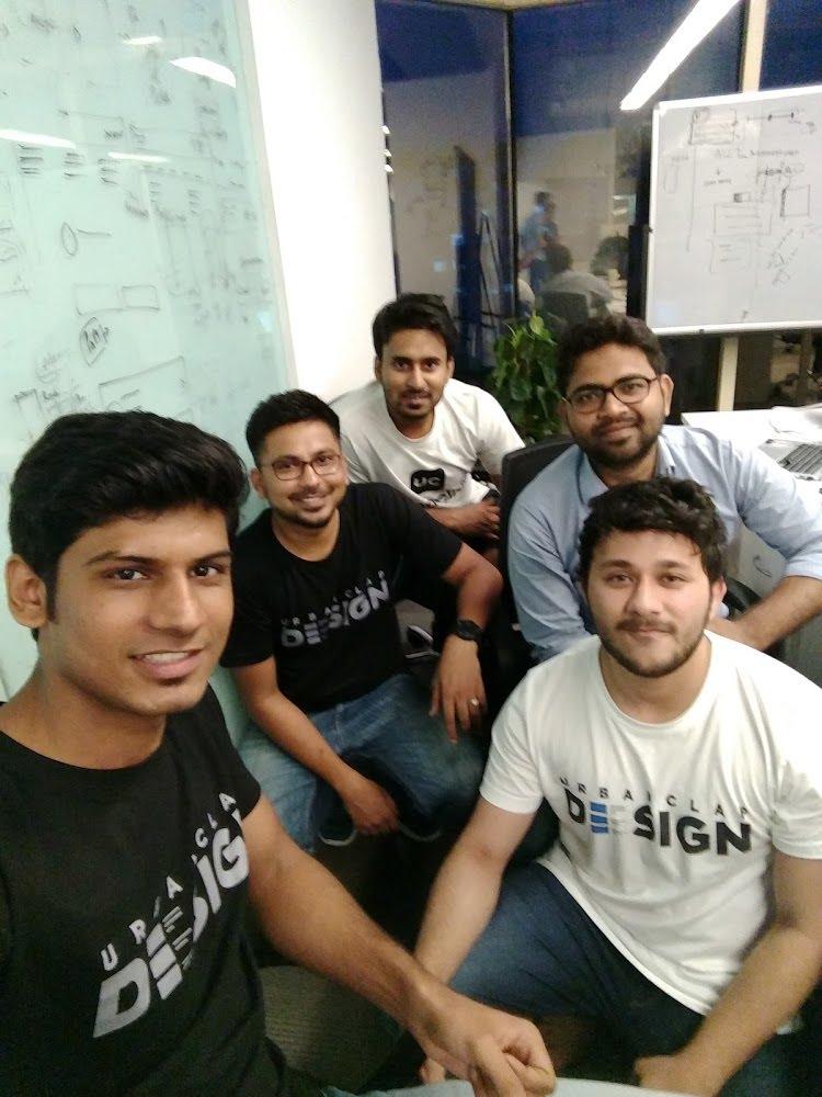 Design team at UrbanClap