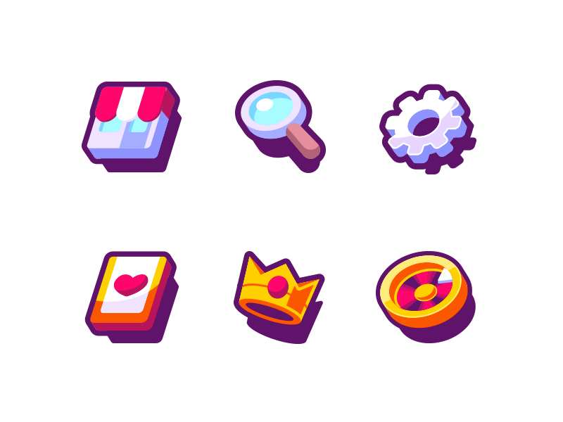 App icons by Ben Bely