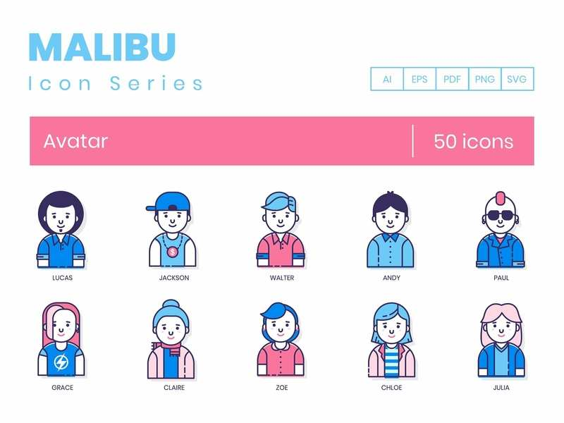 Avatar icons by Icons