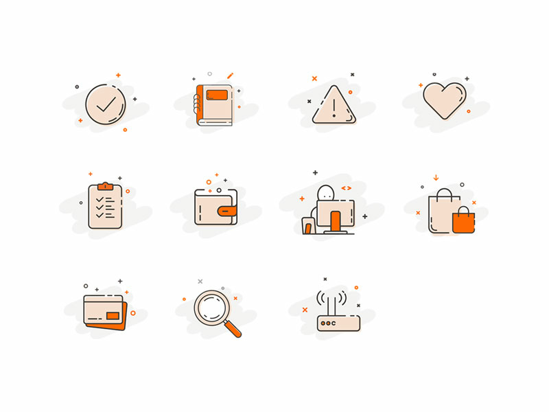 Aimall icons by Mariana Look for Volpis in Almall E-Commerce