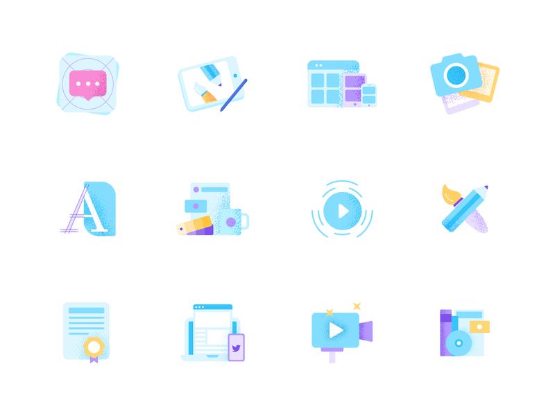 baisc icons by dalpat prajapati
