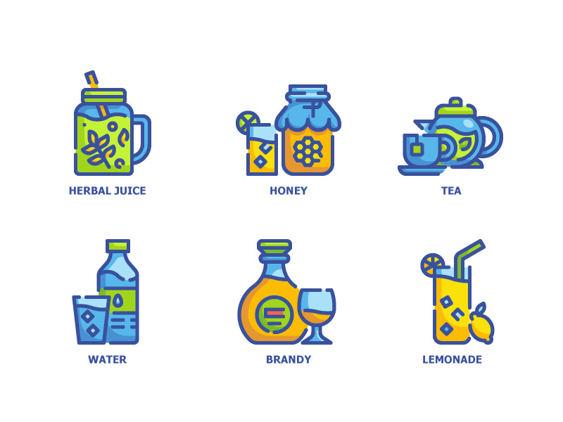 drink-6-icons by Wanicon