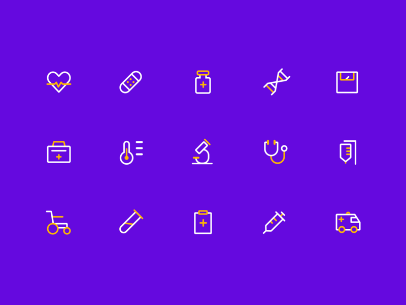 medical icon by DylanMoran for UIGREAT in 图标训练计划
