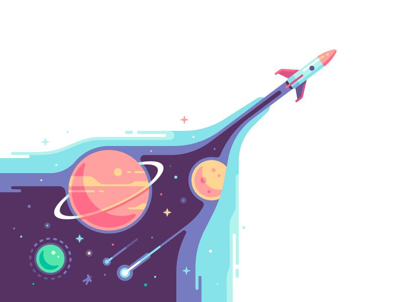 Rocket by Yegor Meteor