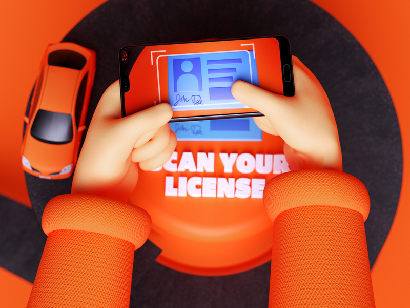 Scan your licence by Tom Hoying for Root Insurance Co.