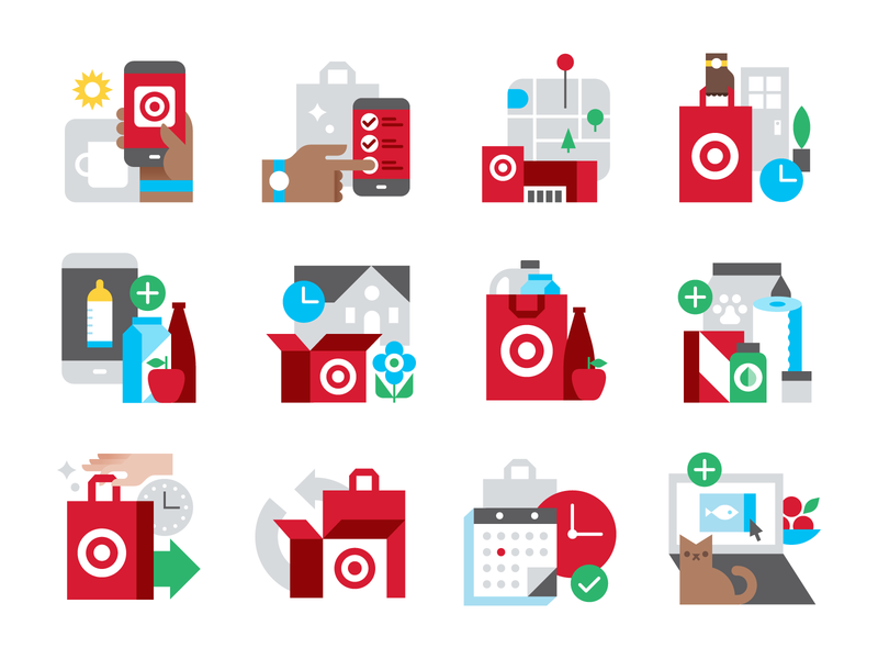 Target icons by Eight Hour Day