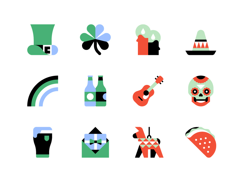 Basic icons by Jordon Cheung in Iconscout's Design Inspiration