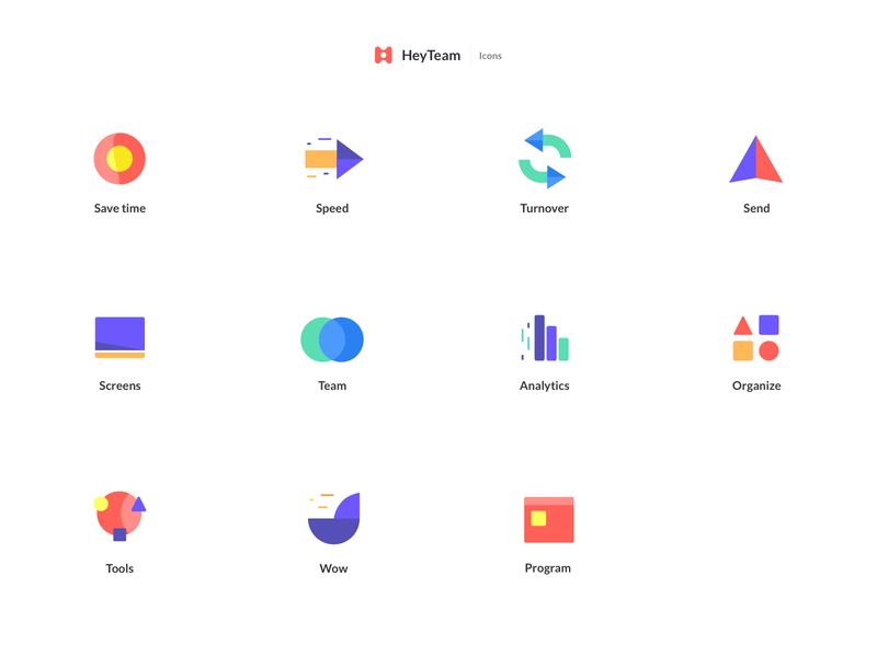Heyteam icon by Barthelemy Chalvet for AgenceMe in HeyTeam in Iconscout's Design Inspiration