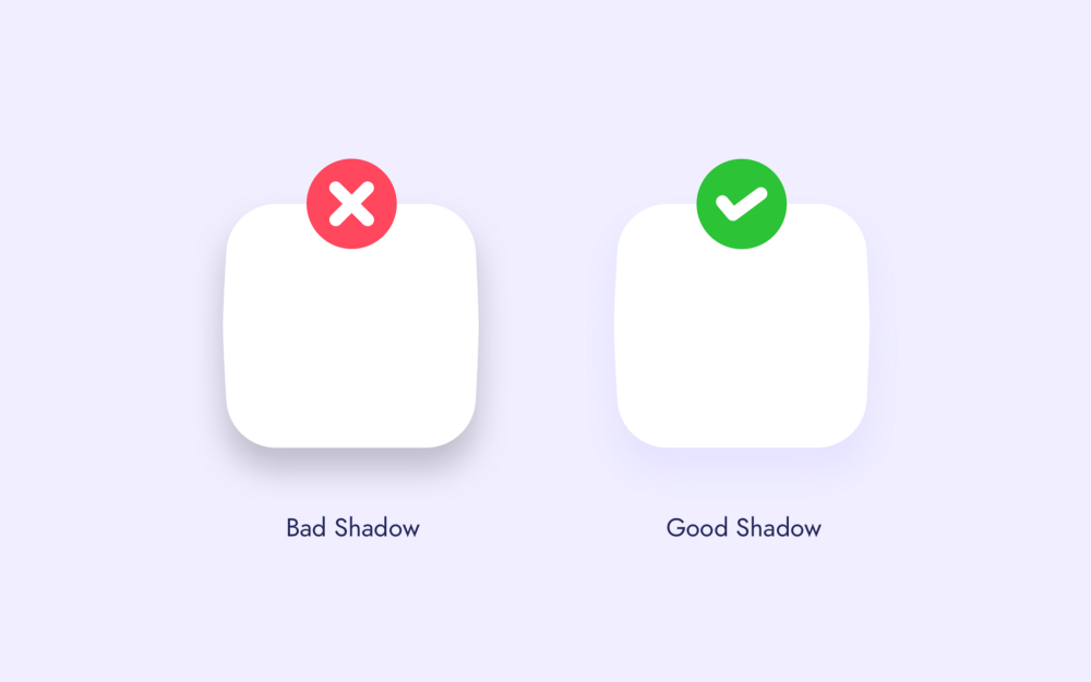 Shadow in UI element