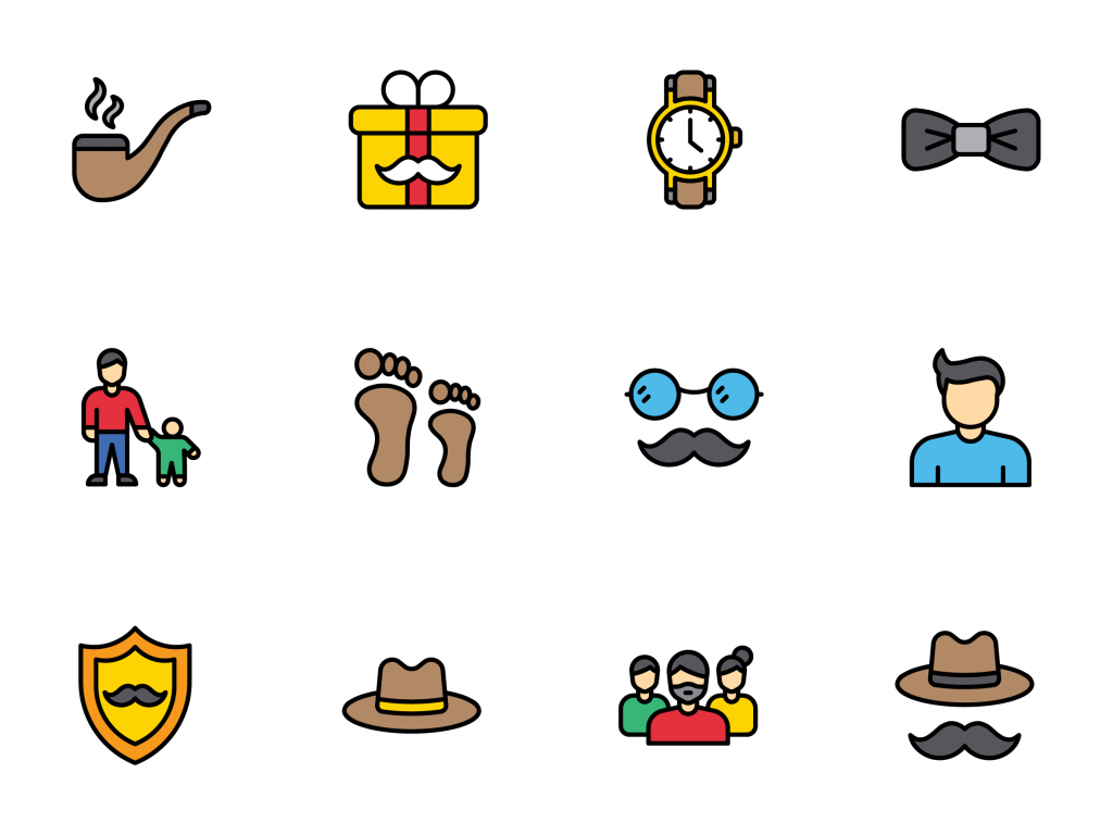 fathers day icon on iconscout