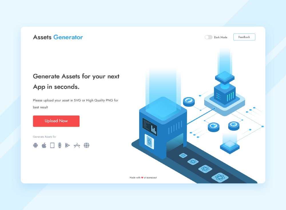 Assets Generator — Side Project: Case Study