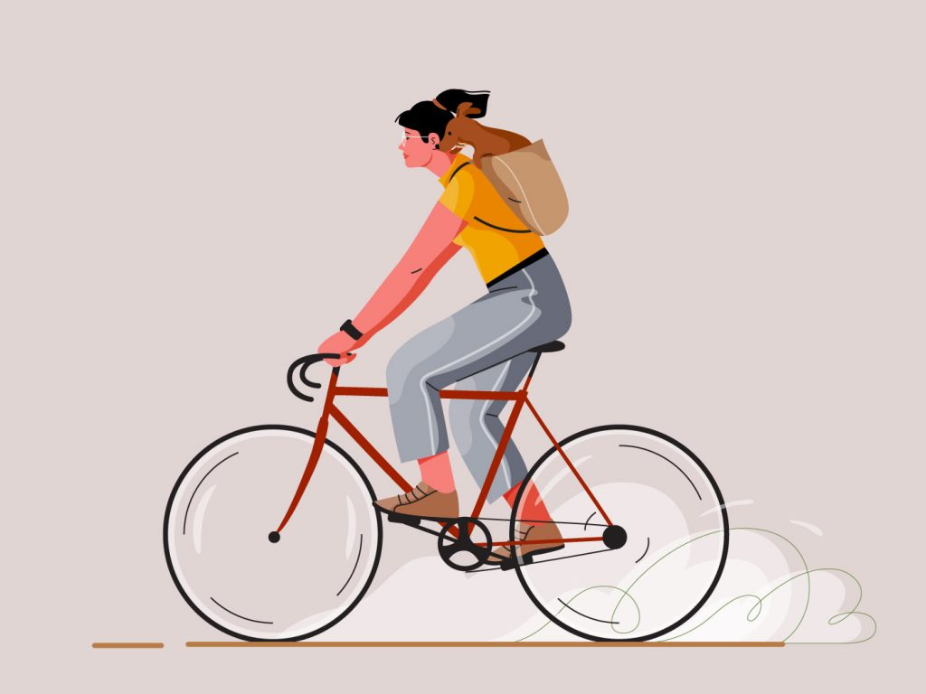 Cycling by cami in Design Inspiration by Iconscout