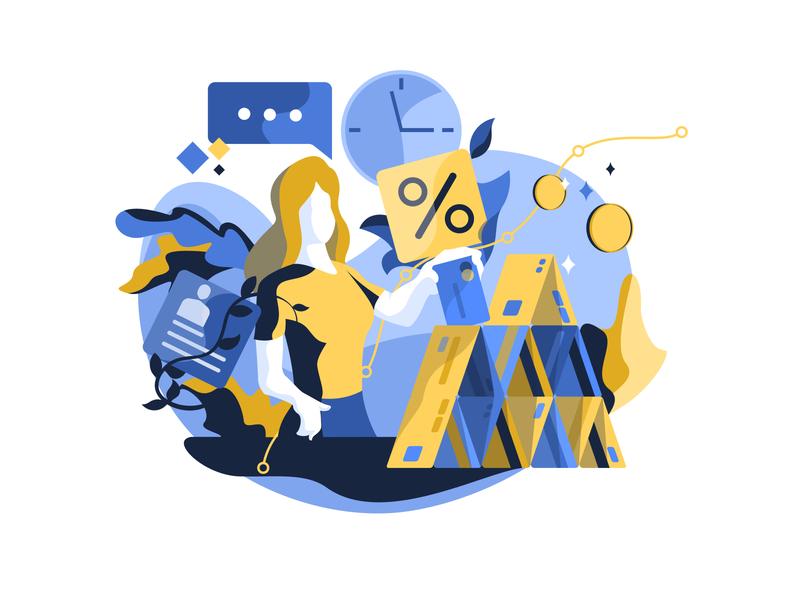 Credit illustration by Bogdan Olimpiyuk for Unfold in iconscout design inspiration blog