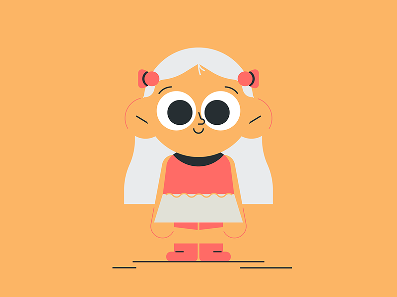 Hello illustration by Javier Ibañez in iconscout design inspiration blog