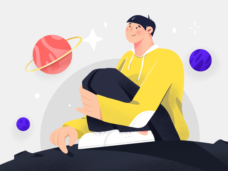 Imagine illustration by ✨Otter9✨ for iconscout design inspiration